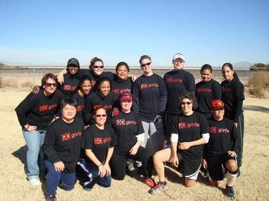 Go Girls Softball In Vegas T-Shirt Photo