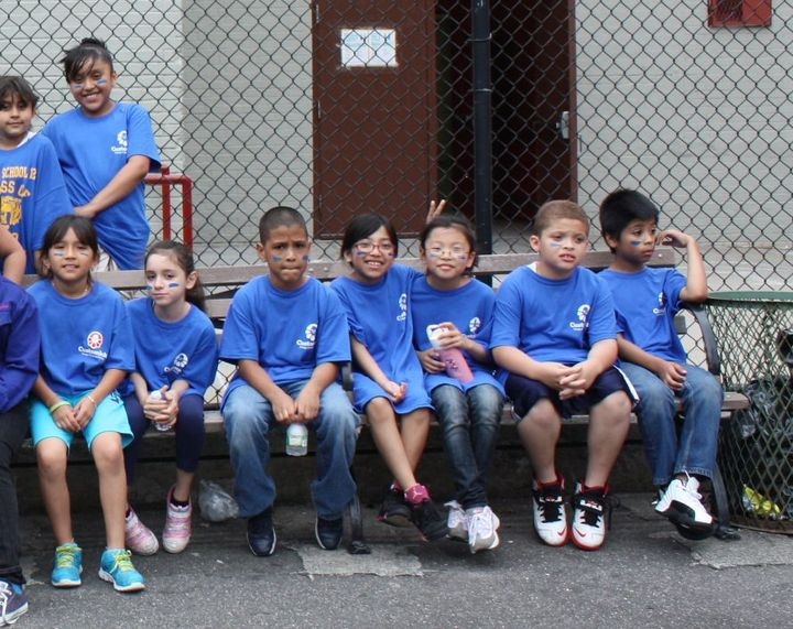 Some Of The Blue Team From Colormania T-Shirt Photo