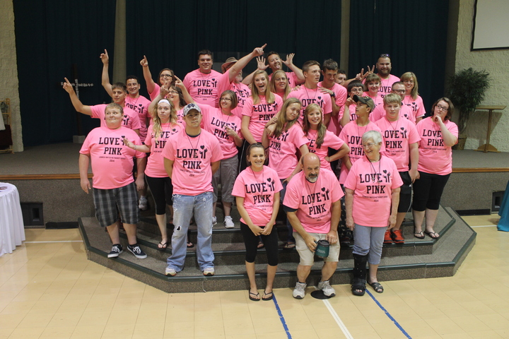 Love Pink Oklahoma T-Shirt Photo