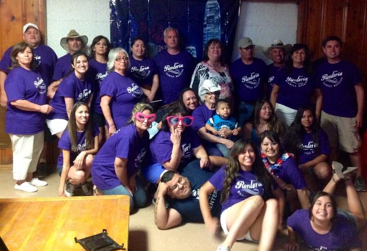 Renteria Family Reunion T-Shirt Photo