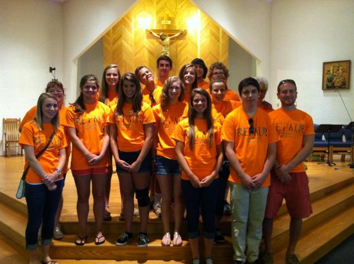 St. Joseph Odenton Catholic Church Youth Group T-Shirt Photo
