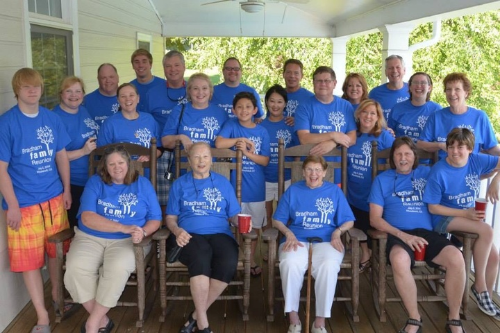 Bradham Family Reunion 2014 T-Shirt Photo