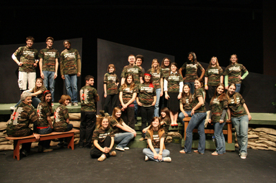 A Piece Of My Heart Cast T-Shirt Photo