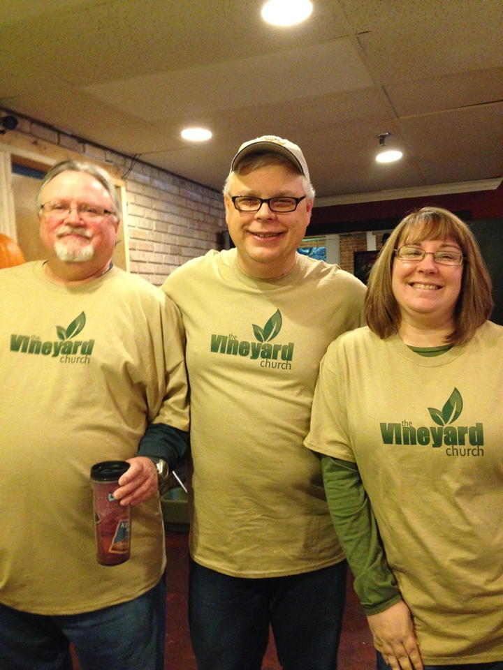 Vineyard Church Outreach Event T-Shirt Photo