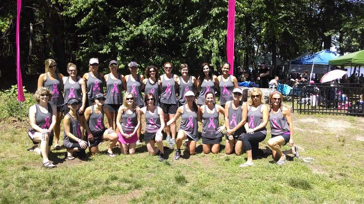 Breast Cancer Dragon Boat Fundraiser 2014 T-Shirt Photo