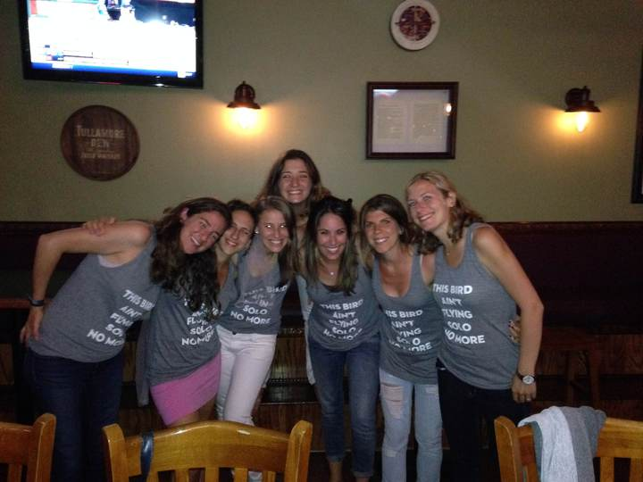 Bird's Bachelorette T-Shirt Photo