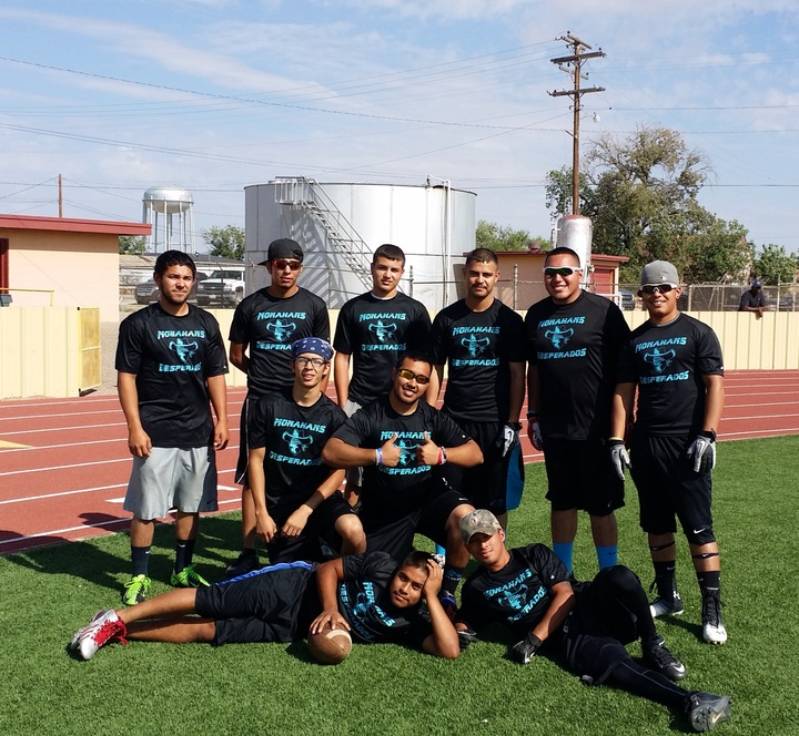Texas Flag Football  T-Shirt Photo