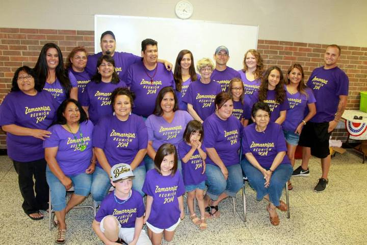 Zam Fam Reunion 2014 T-Shirt Photo