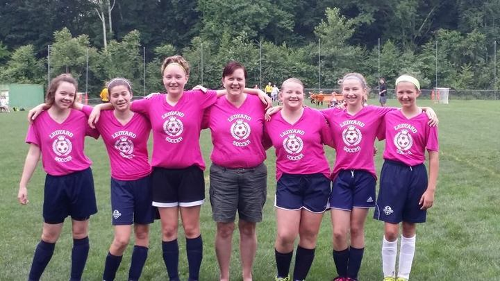 Pink Panthers Soccer T-Shirt Photo