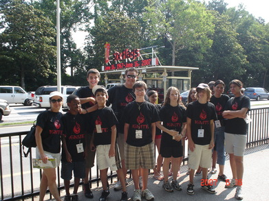 Ignite At Six Flags T-Shirt Photo