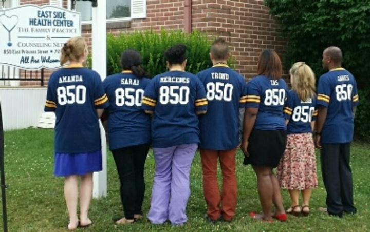 The Backside Of Eastside! T-Shirt Photo
