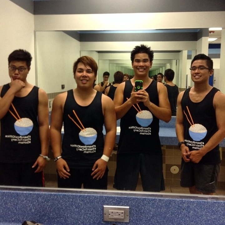 Team Bowl Of Rice Gym Movement T-Shirt Photo