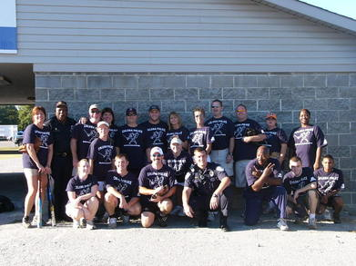 Calera Police & Fire Appreciation Softball Game 07 T-Shirt Photo