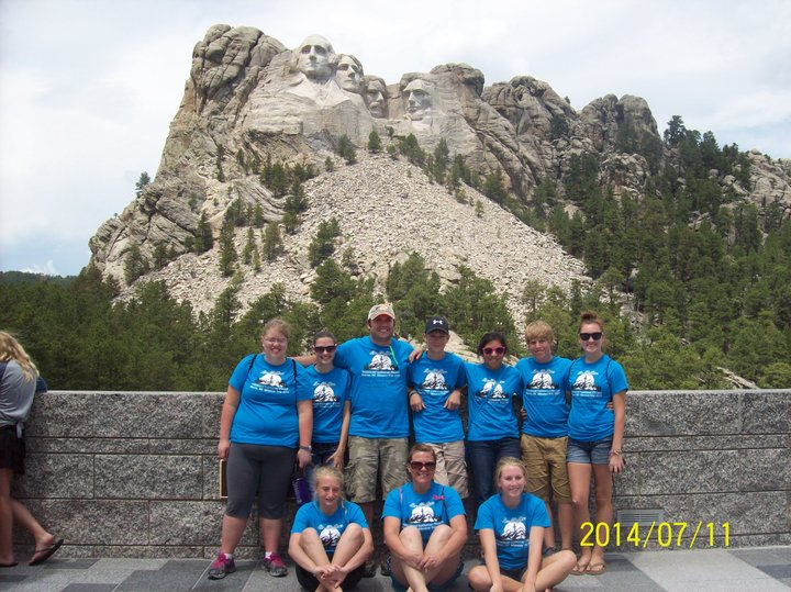 Immanuel Lutheran Youth Group Mission Trip T-Shirt Photo