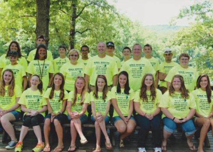 Epic Youth Arrive At Look Up Lodge T-Shirt Photo