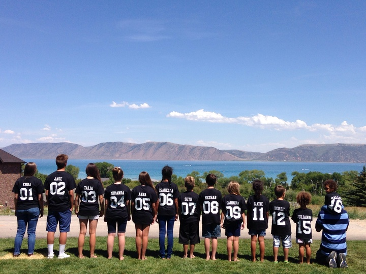 Grandkids At Bear Lake T-Shirt Photo