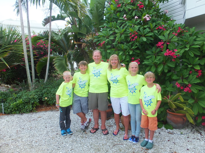Celebrating Our Summer Vacation With Pa Pa And Mo! T-Shirt Photo