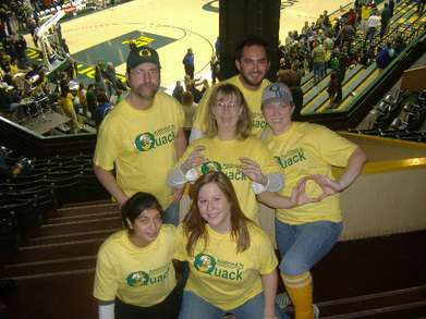 Go Ducks! T-Shirt Photo