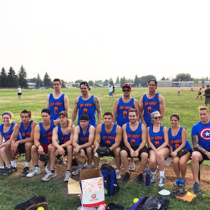 Da Kids Slo Pitch Team T-Shirt Photo