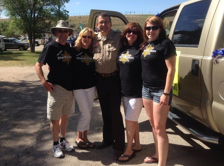 Wyoming Sheriff Running For 6th Term! T-Shirt Photo