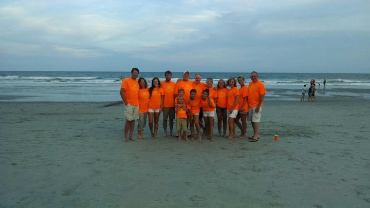 Cross Family Beach Fun 2014! T-Shirt Photo