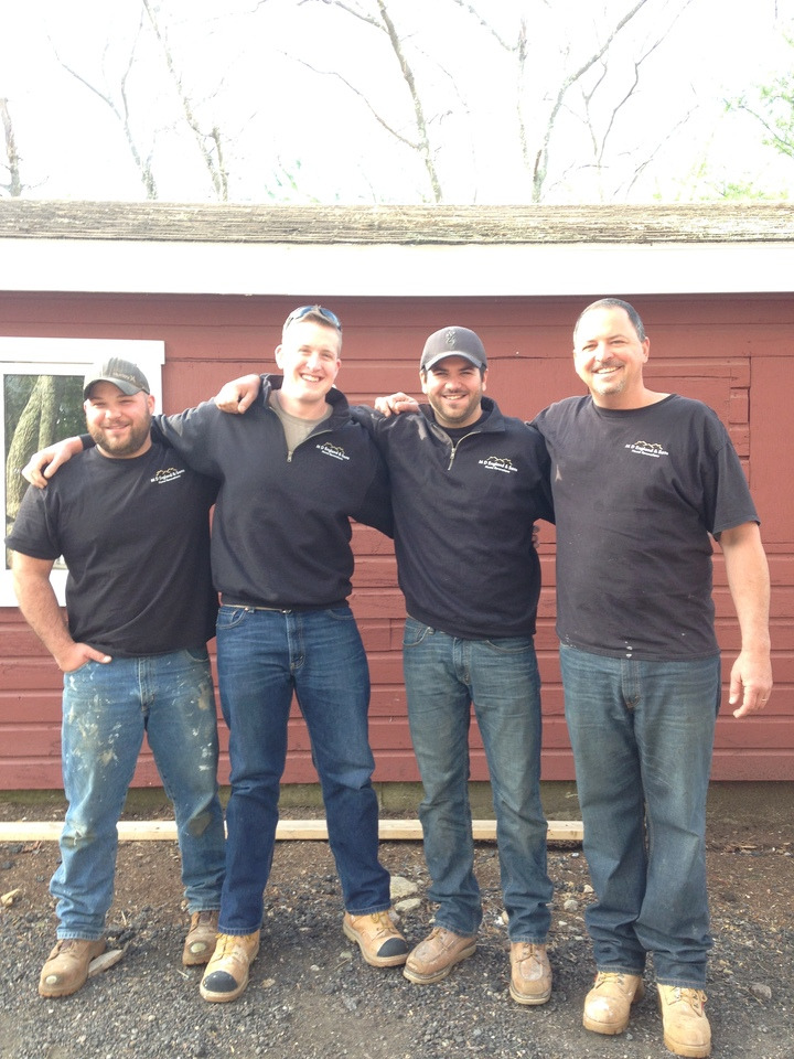 The M D England And Sons Home Renovations Crew T-Shirt Photo