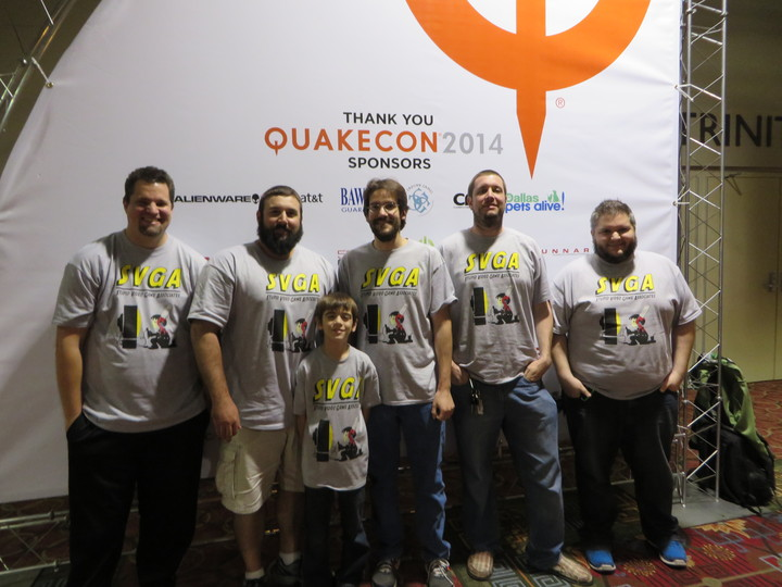 Svga At Quake Con 2014 T-Shirt Photo
