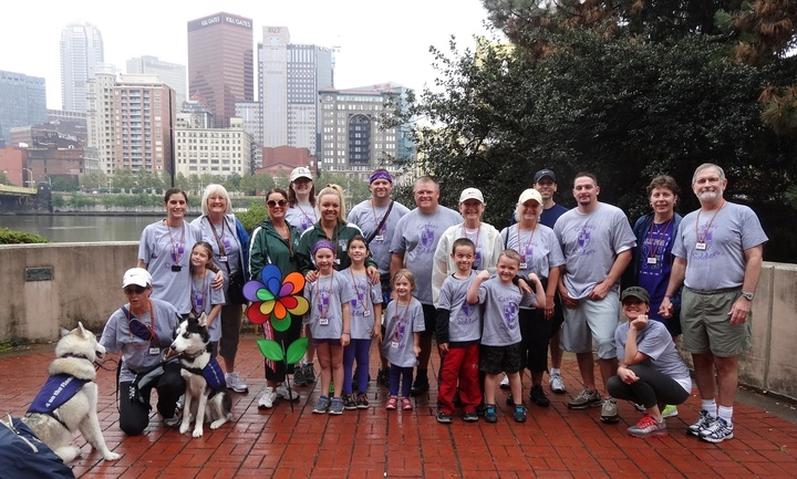 Sophia's Soldiers At The 2014 Pittsburgh Pirates Run/Walk For Epilepsy T-Shirt Photo