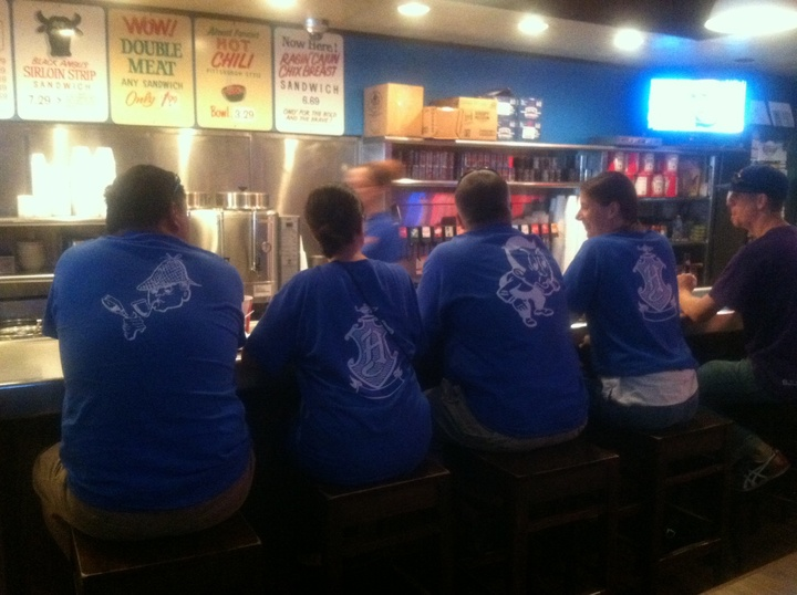 The Happeners Road Trippin' In Pittsburgh T-Shirt Photo