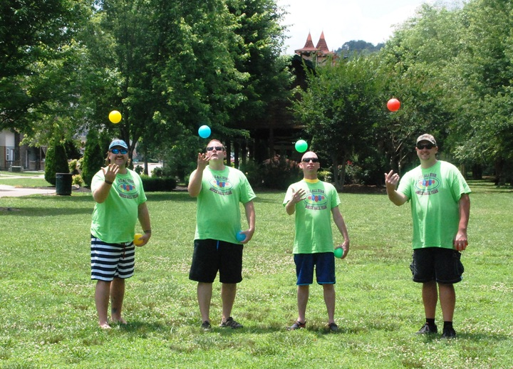 Us All Star Bocce Ball Team T-Shirt Photo