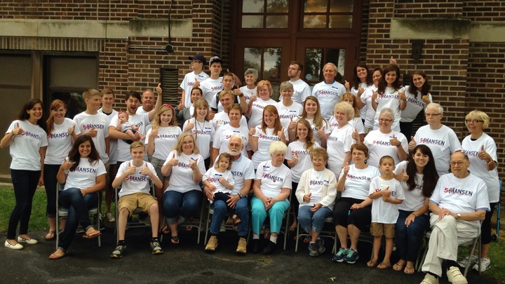 Hansen Family Reunion T-Shirt Photo
