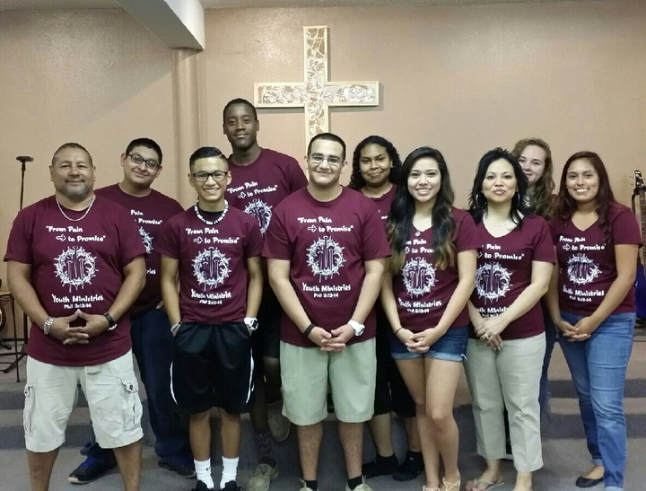 "Livingstone Church ""From Pain To Promise"" Youth Ministries T-Shirt Photo"