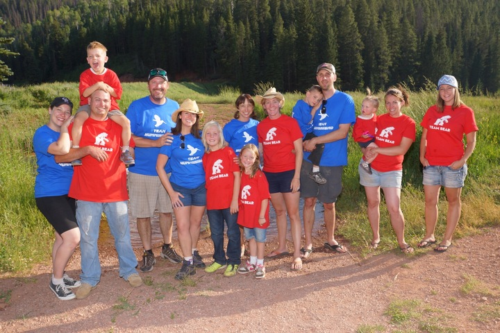 Team Bear Vs Team Hummingbird T-Shirt Photo