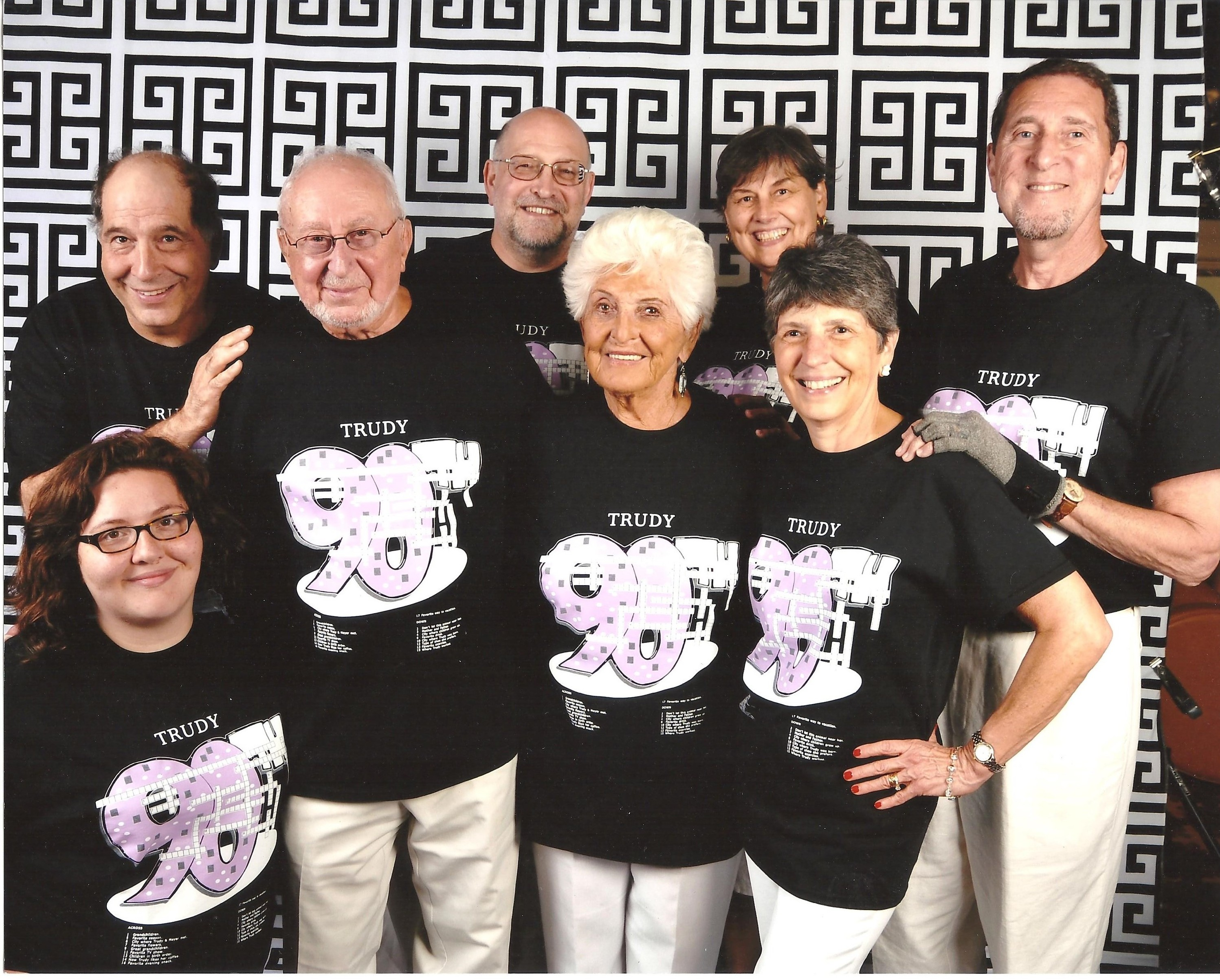Trudys 90th Birthday Cruise T Shirt Photo