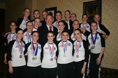 Us Championships Bronze Medalists T-Shirt Photo