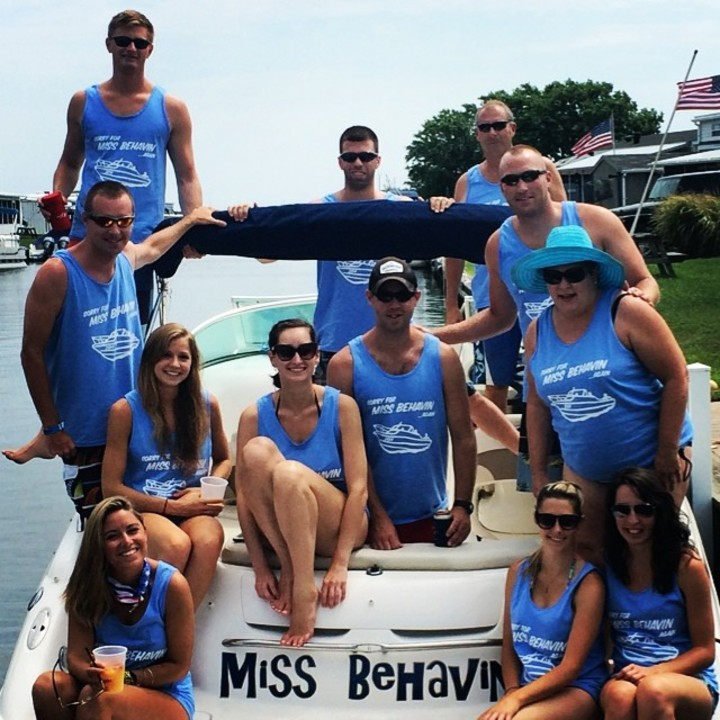 2nd Annual Bay Bar Boat Crawl, Ocean City, Md T-Shirt Photo