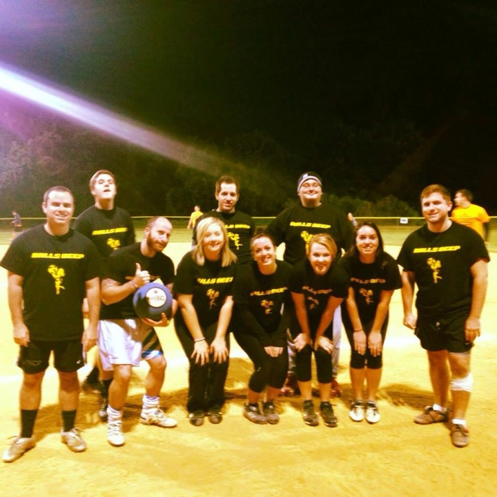 Balls Deep Kickball T-Shirt Photo