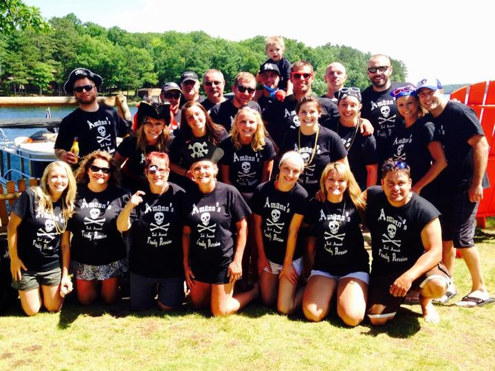 Amann's 2nd Annual Family Reunion T-Shirt Photo