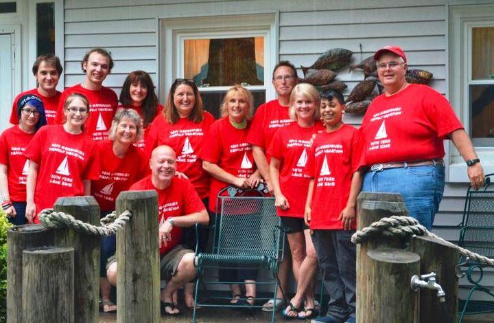 Lake Erie Family Vacation T-Shirt Photo