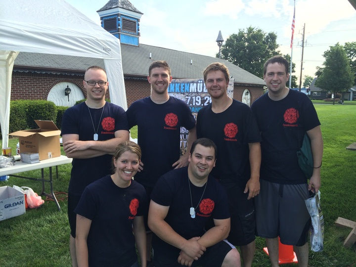 Firefighters At The Frankenmuth Frankenmudder T-Shirt Photo