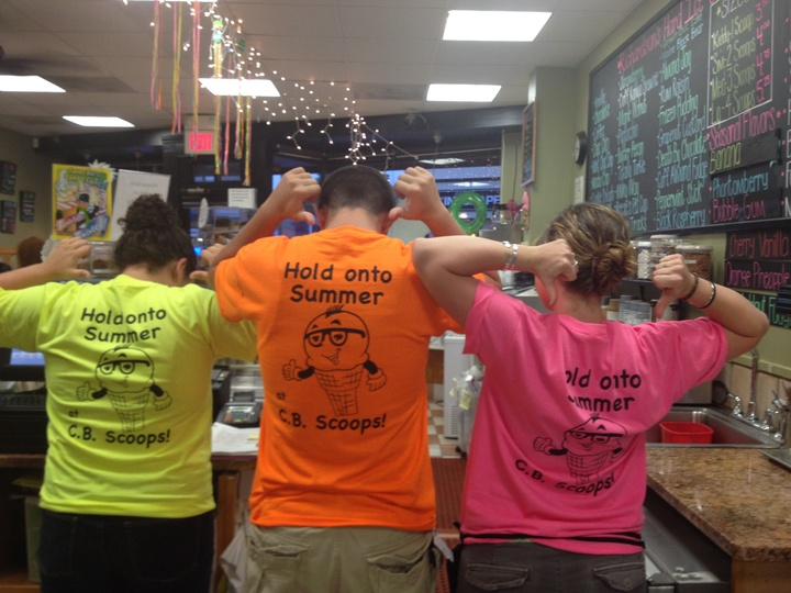 Cb Scoops New Summer Tshirts! T-Shirt Photo