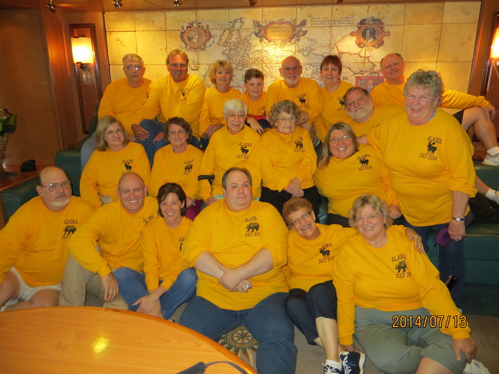 5th Biannual Family Cruise T-Shirt Photo