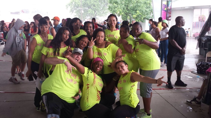 2014 Ohio State Fair Zumba & Hip Hop Event T-Shirt Photo
