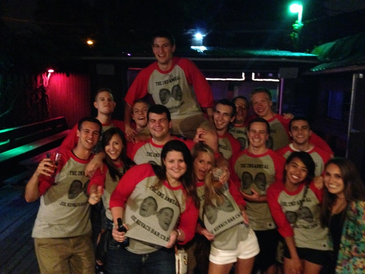 The 2nd Annual Joe Kovacs Bar Crawl T-Shirt Photo