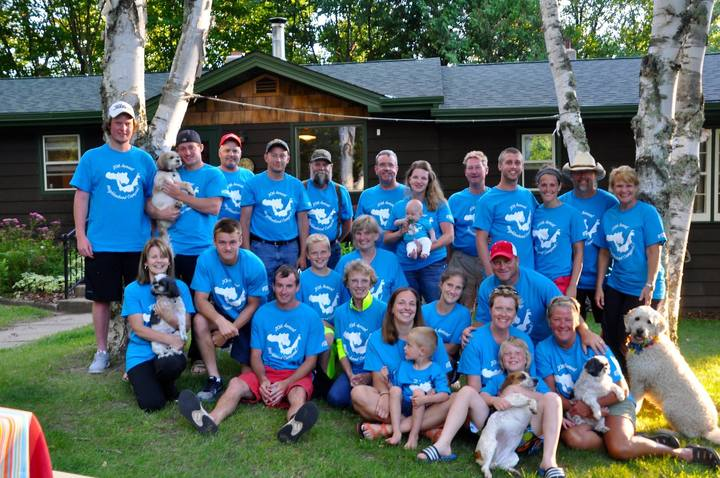 20th Annual Neighborhood Campout T-Shirt Photo