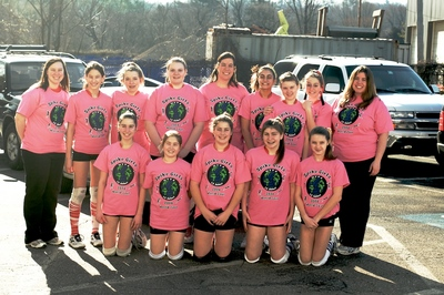 Spike Girlz Volleyball!! T-Shirt Photo