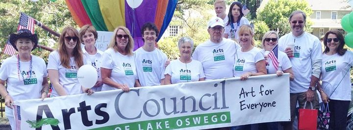 4th Of July In Lake Oswego T-Shirt Photo