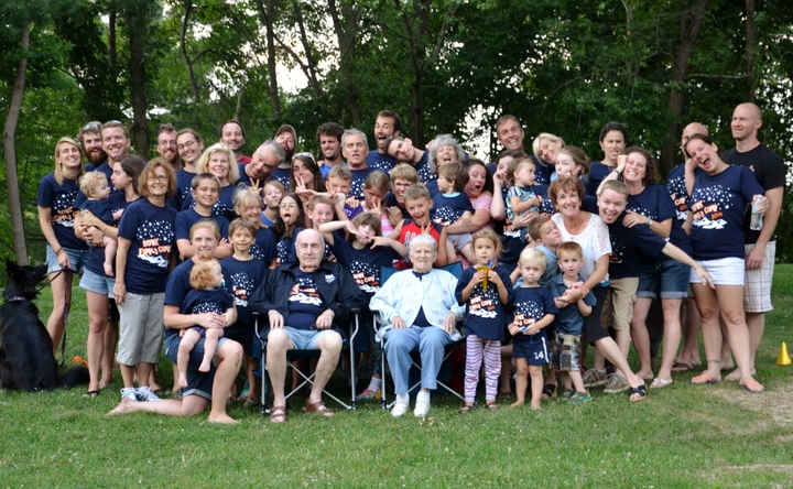 Fun With Four Generations  T-Shirt Photo