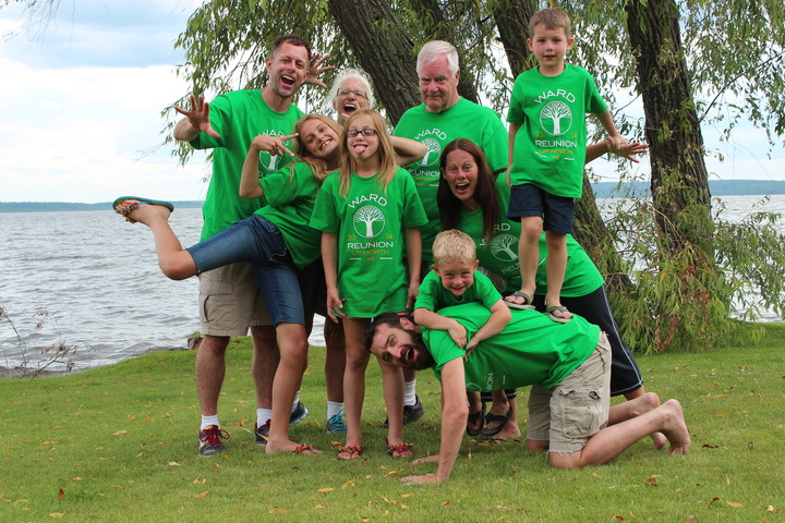 Ward Family Reunion 2014 T-Shirt Photo