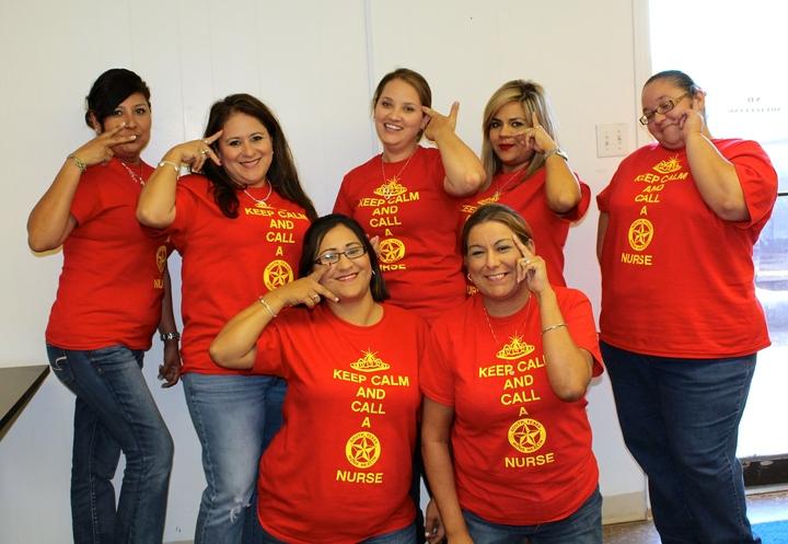 Sthh Nurses Are Fierce! T-Shirt Photo